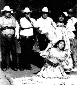 アパッチ族の日の出の儀式